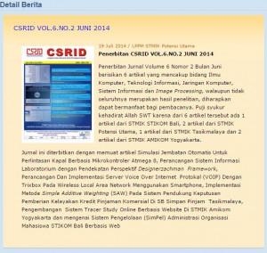 Capture dari web csrid