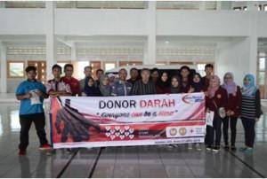 Foto Bersama Panitia Donor Darah STMIK Tasikmalaya 2016
