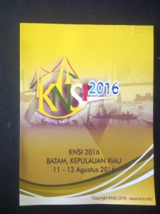 KNSI 2016 - Blok Note