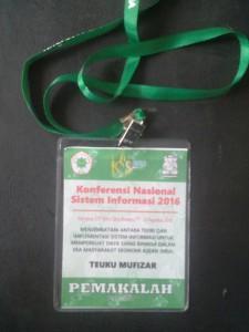 KNSI 2016 - ID CARD